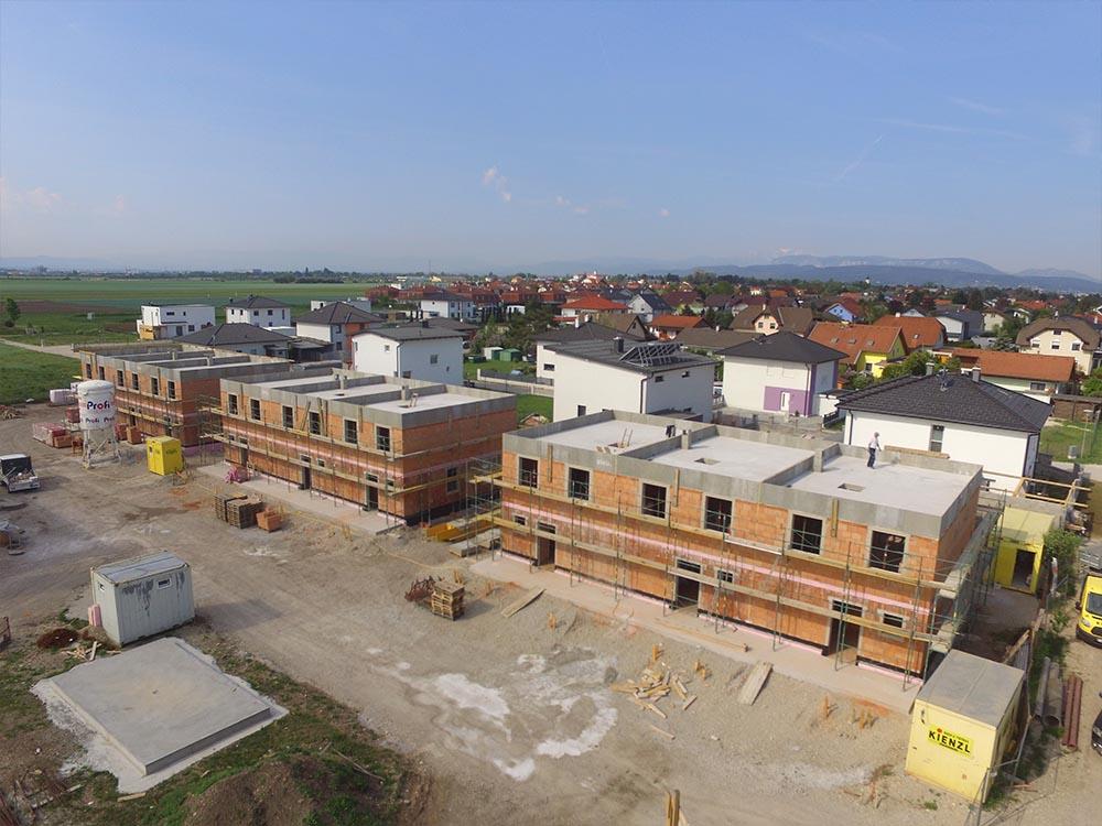 Baufortschritt Wohnhausanlage Wiener Neustadt