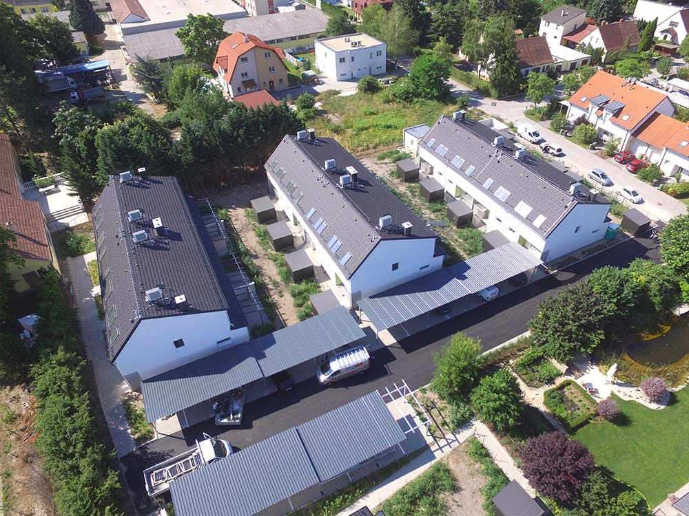 Baufortschritt Baustelle Leopoldsdorf Marchfeld